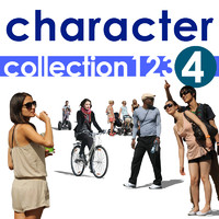 Character collection 123-4
